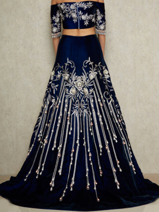 Isabella Bridal Lehenga - Indian Bridal Wear - bAnuDesigns