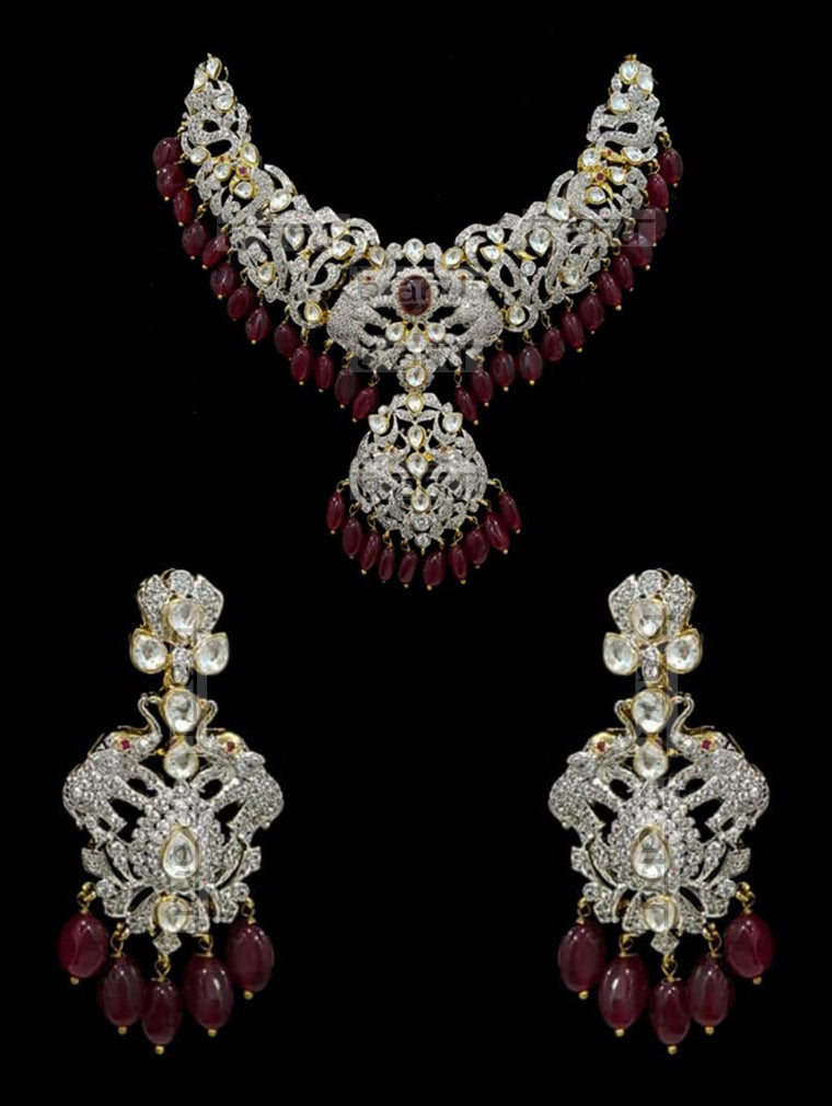 Israh Victorian Ruby Set