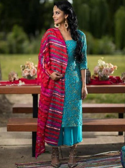 Kimberly Salwar Suit - bAnuDesigns