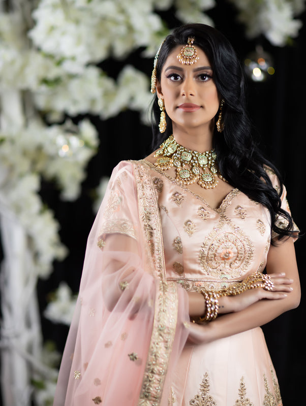 Larissa Bridal Lehenga - Indian Bridal Wear - bAnuDesigns