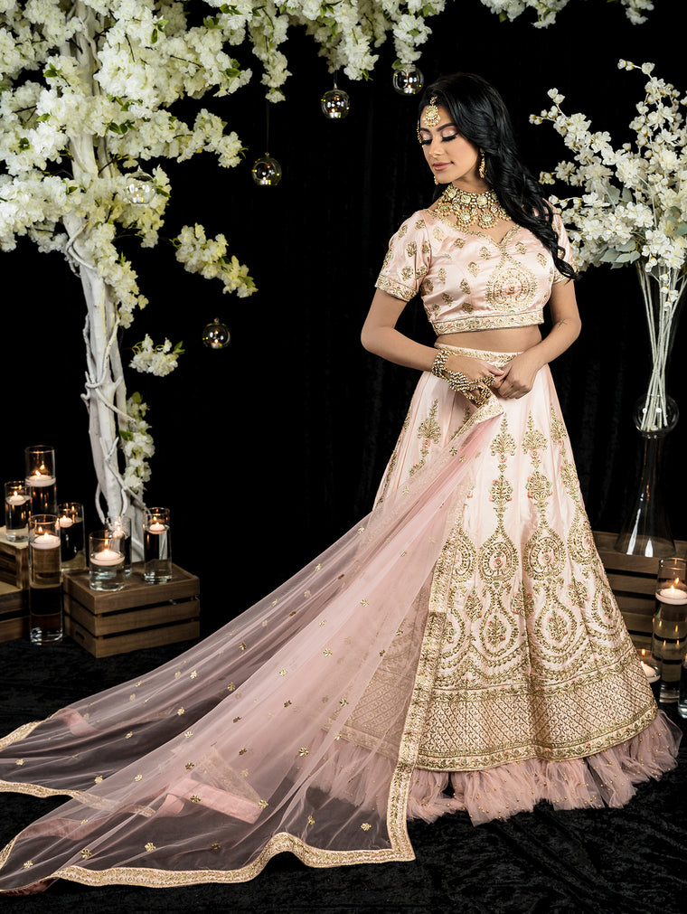 Larissa Bridal Lehenga - Indian Bridal Wear