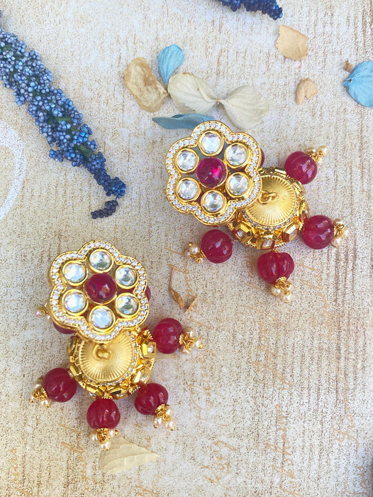 Mannat Earrings - bAnuDesigns