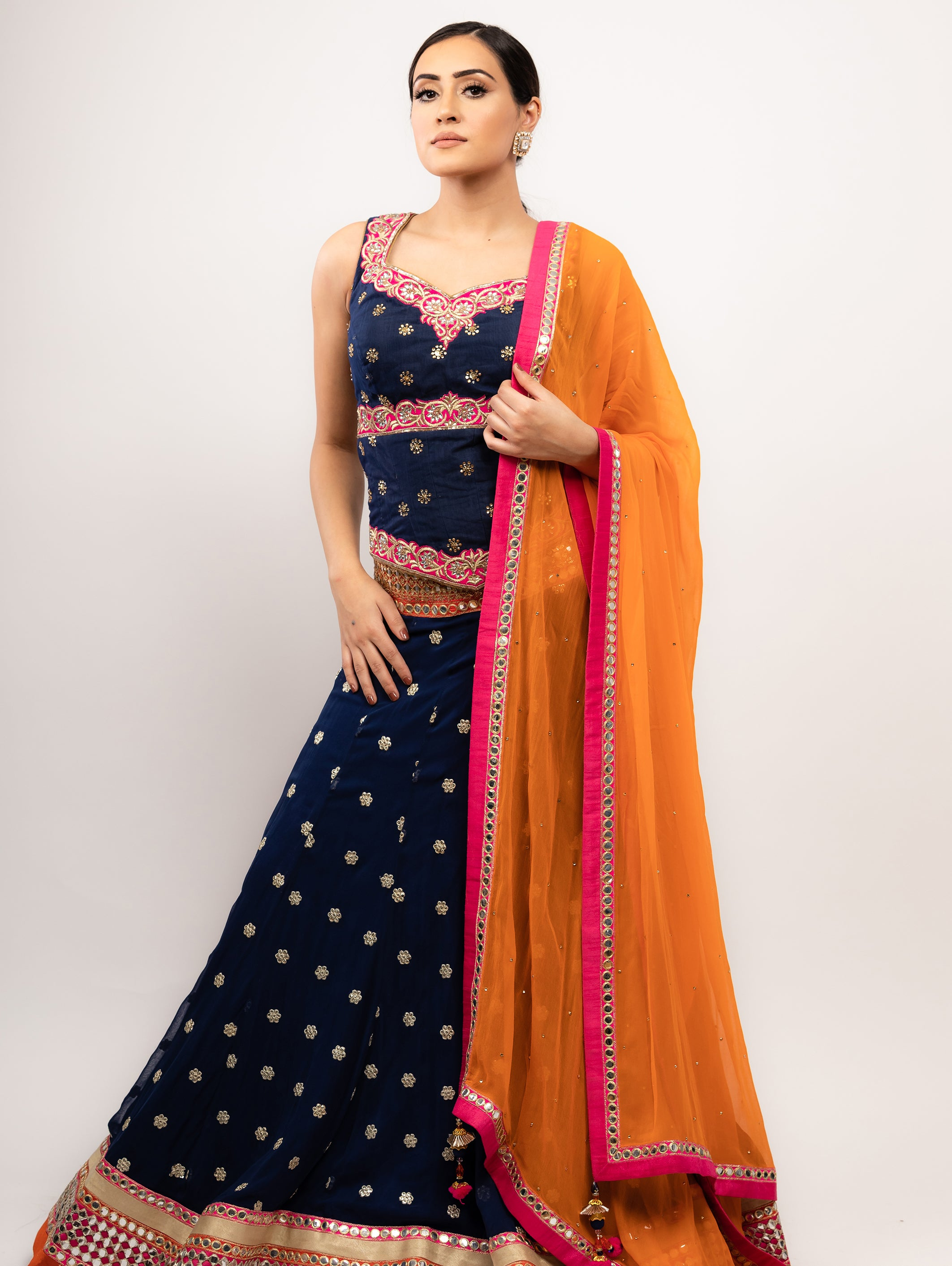 Noorani Bridal Lehenga - Indian Bridal Wear - bAnuDesigns