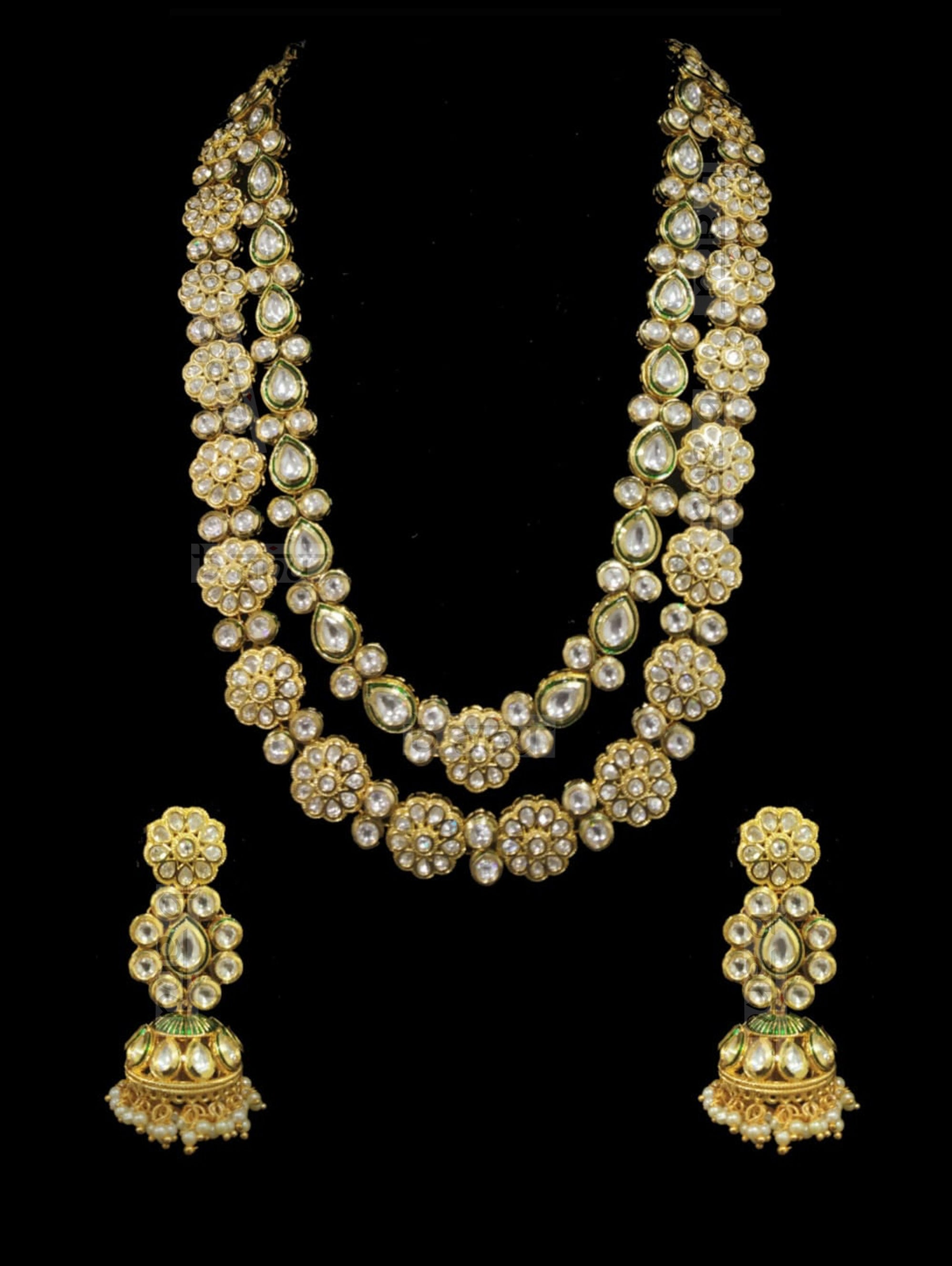 Qurbat Layered Kundan Set - bAnuDesigns