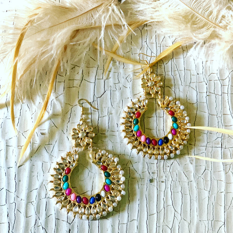 Sahar Earrings & Tikka Set