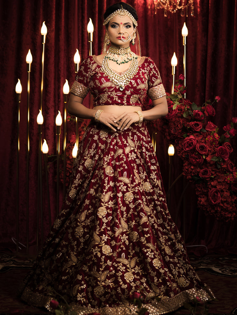 Shalini Bridal Lehenga - Indian Bridal Wear