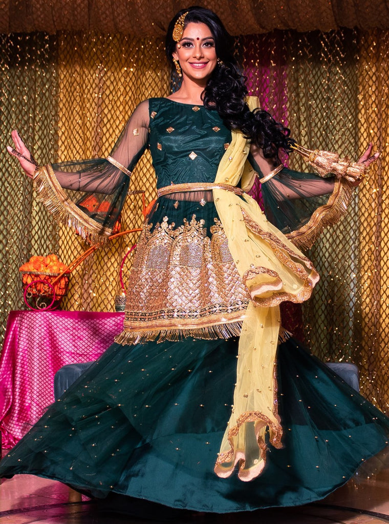 Sufiyana Bridal Lehenga - Indian Bridal Wear