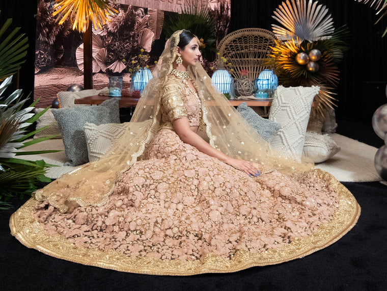 Zenny Bridal Lehenga - Indian Bridal Wear - bAnuDesigns