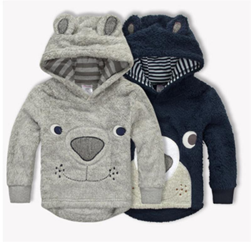 Baby Bear Hooded Sweatshirt