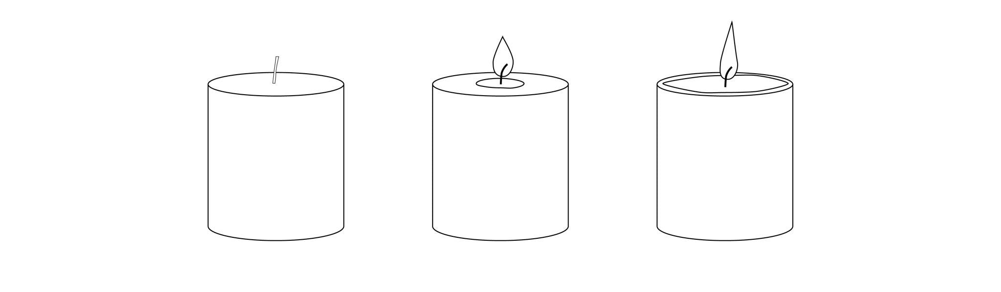 Setting the candle memory