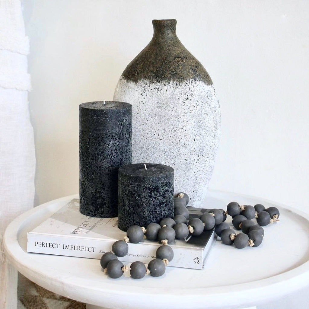 Styling with textured candles