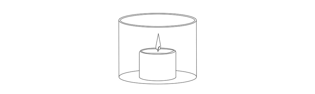 Choose the right vase for your candle