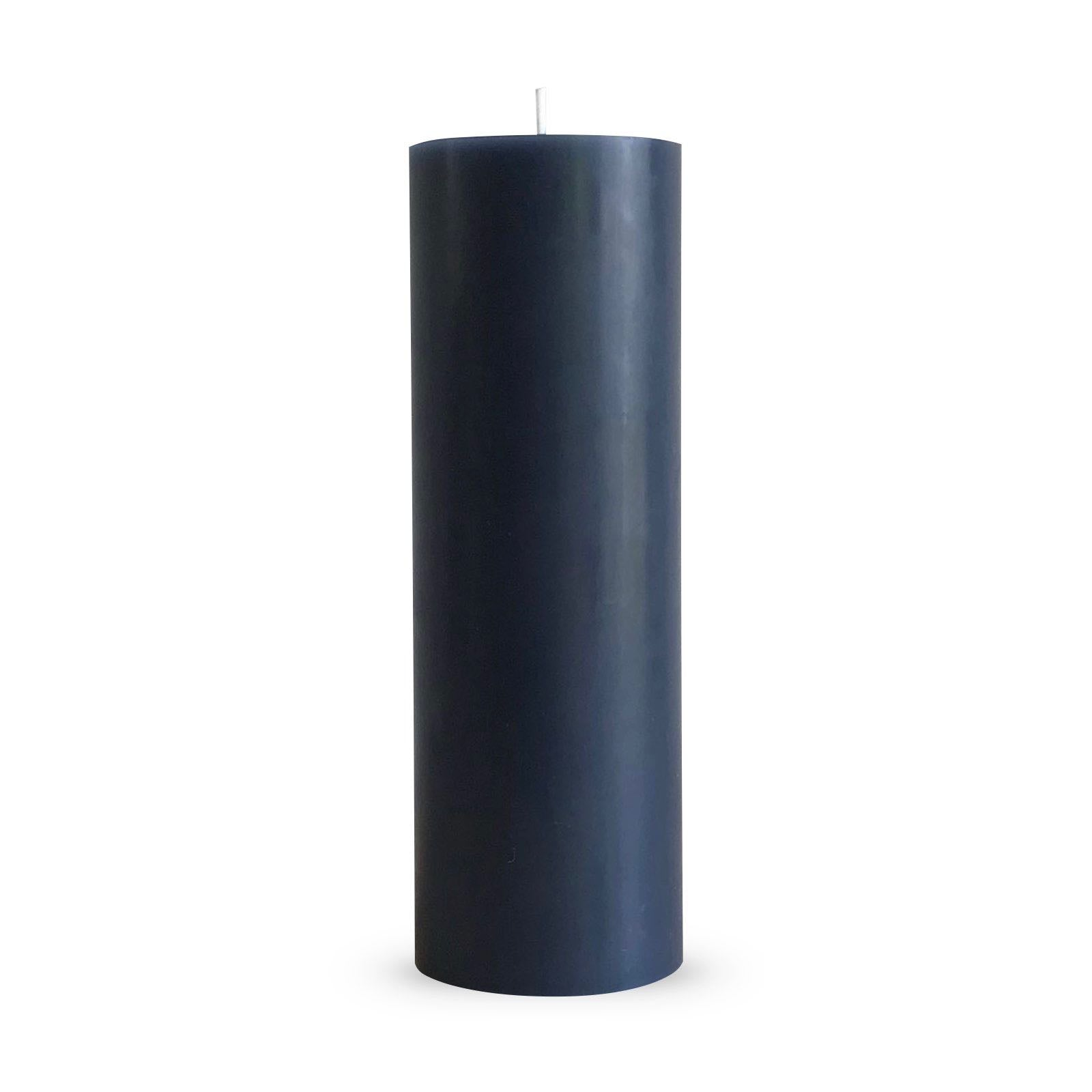 Pillar Candle - Grey - L (7x21 cm)