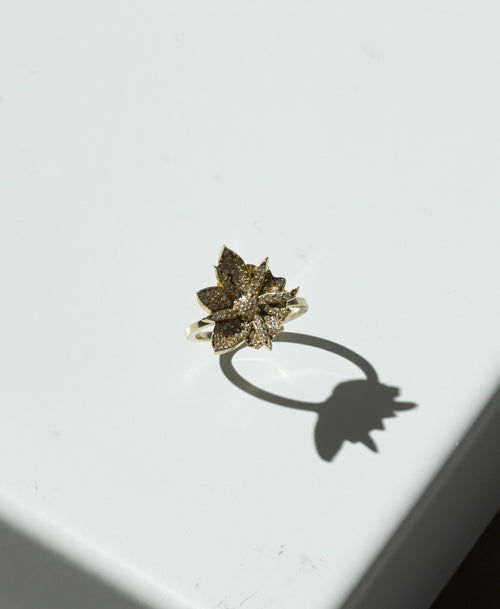 Wildflower Ring Pave
