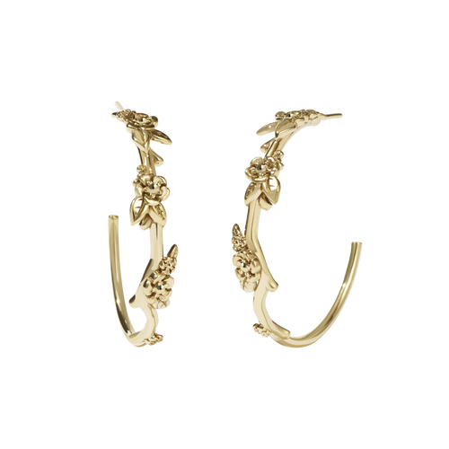 Alba Hoop Earrings Large