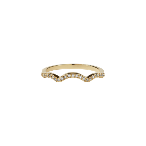 Clementine Band Pave