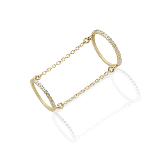 Eternity Chain Ring