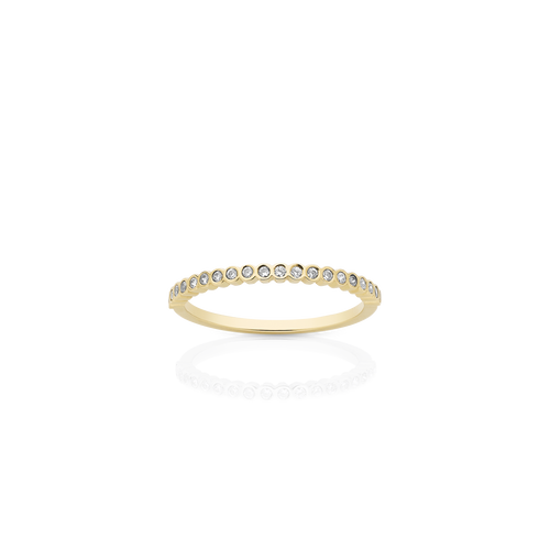 Petite Circles Eternity Band