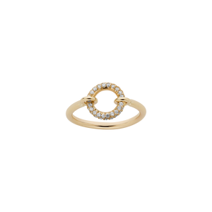 Halo Ring Pave