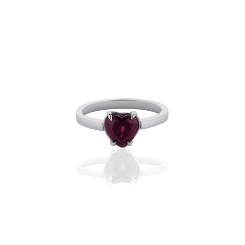 Heart Jewel Ring