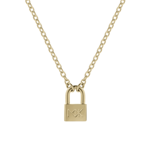 Lock Necklace Large