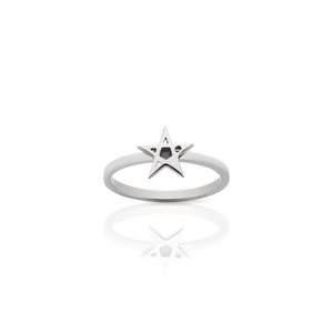 Pentagram Stacker Ring
