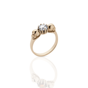 Skull Jewel Ring