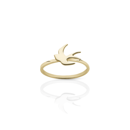 Swallow Stacker Ring