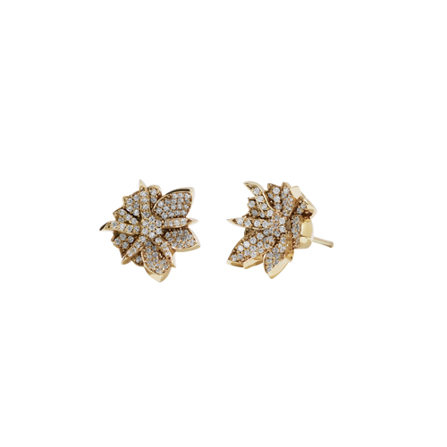 Wildflower Earrings Pave