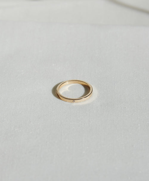2mm Band with Stone