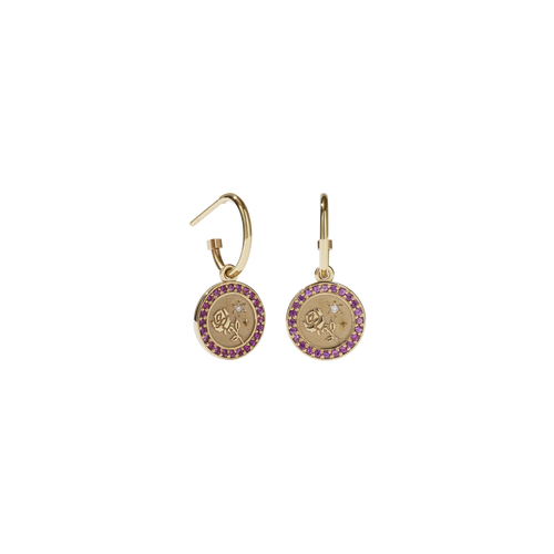 Amulet Love Earrings Pave