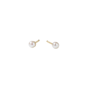Seed Pearl Stud Earrings Small