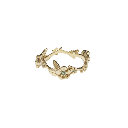 Alba Vine Ring Stone Set