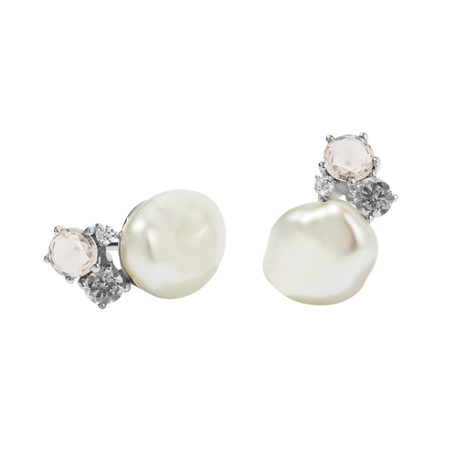 Baroque Stud Earrings