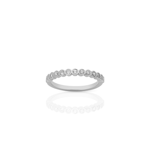 Large Circles Eternity Band