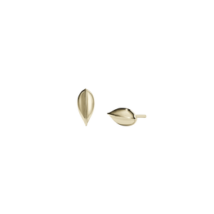 Leaf Stud Earrings Small