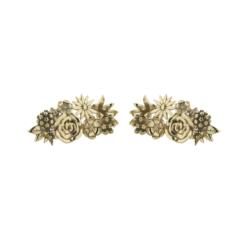 Overgrown Stud Earrings