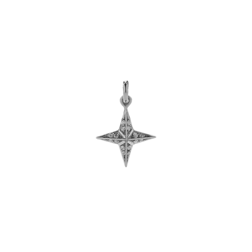 Pave Star Charm