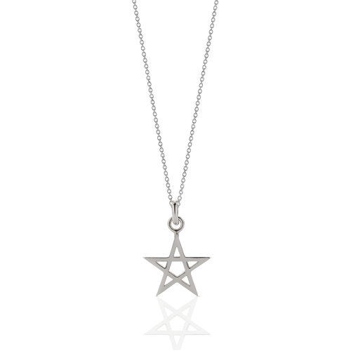 Pentagram Charm Necklace