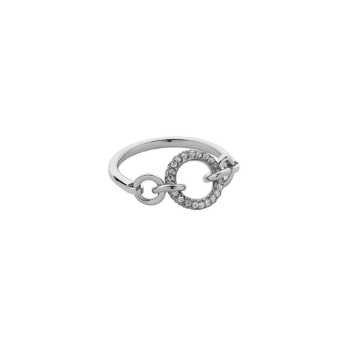Triple Halo Ring Pave