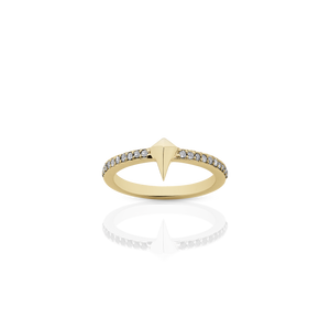 Pointed Eternity Ring