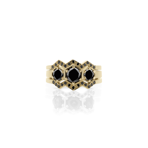 3 Hex Ring Set