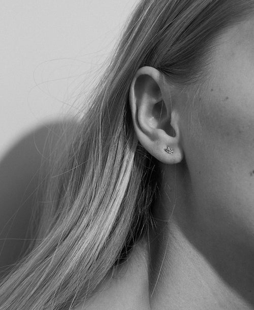 Micro Alba Stud Earrings