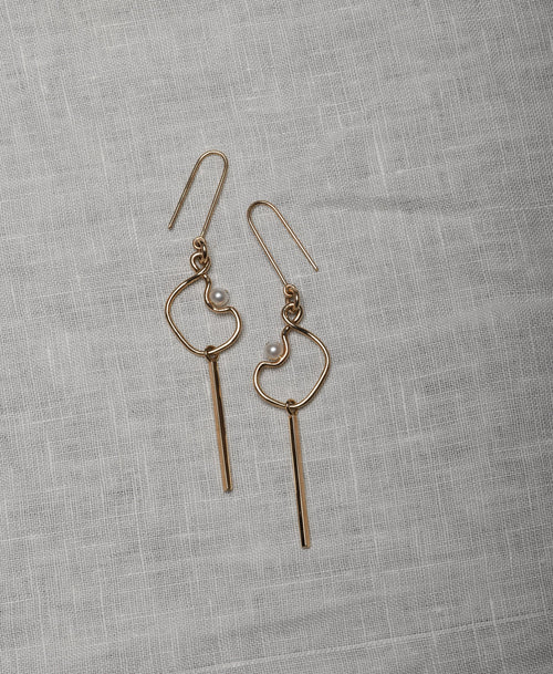 Clio Drop Earrings Small