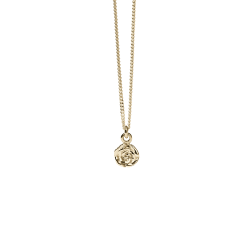 Rose Charm Necklace