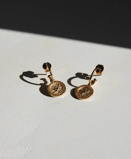 Amulet Peace Earrings