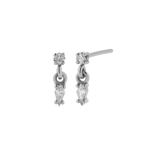Astral Double Stud Earrings