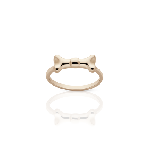 Bone Bow Stacker Ring