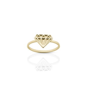 Diamond Stacker Ring [archive]
