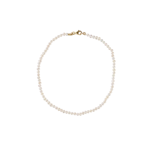 Micro Pearl Anklet - In Stock
